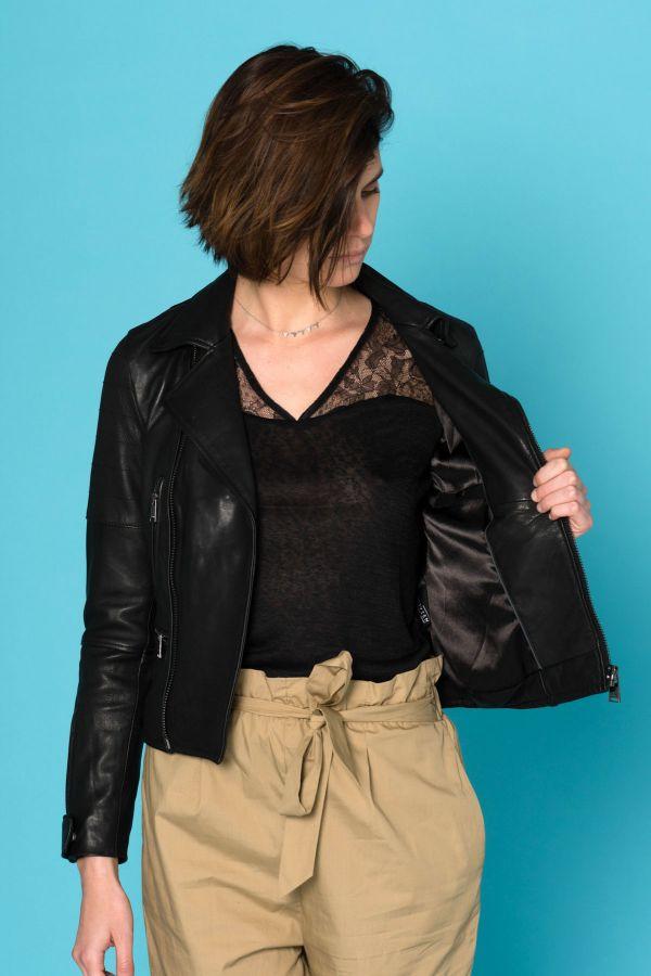 Blouson Femme Cityzen FIDGI BLACK