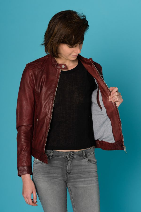 Blouson Femme Cityzen ARA RED