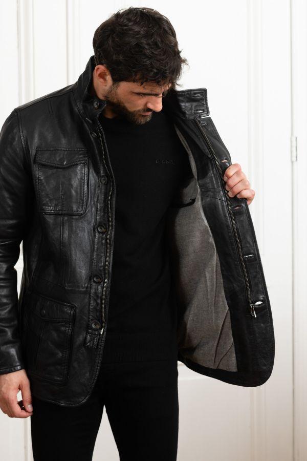Veste Homme Daytona SPEED SHEEP TIGER BLACK