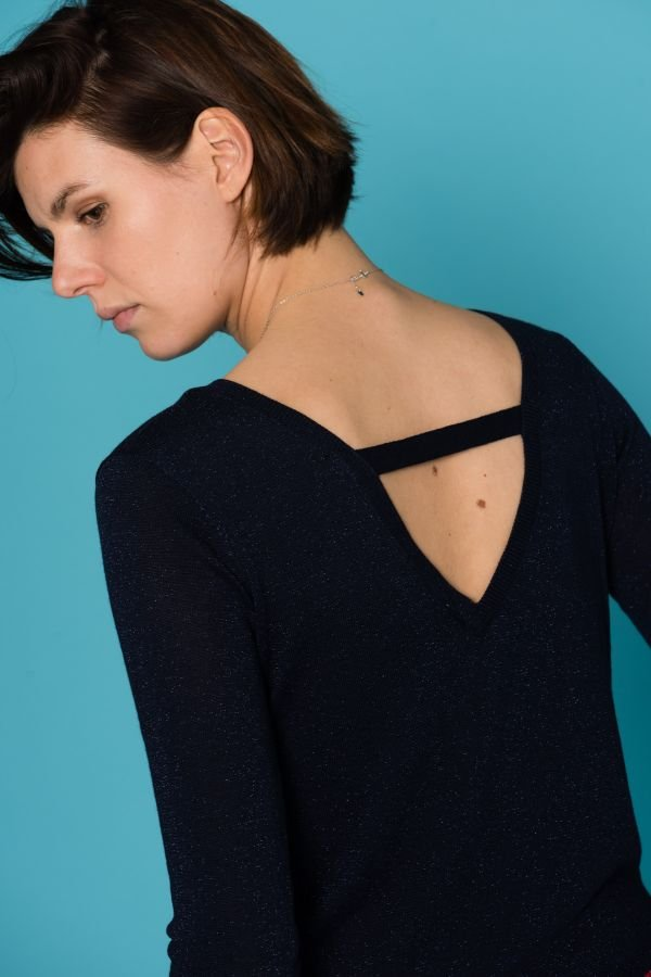 Pull/sweatshirt Femme Grace Et Mila SAFRAN MARINE