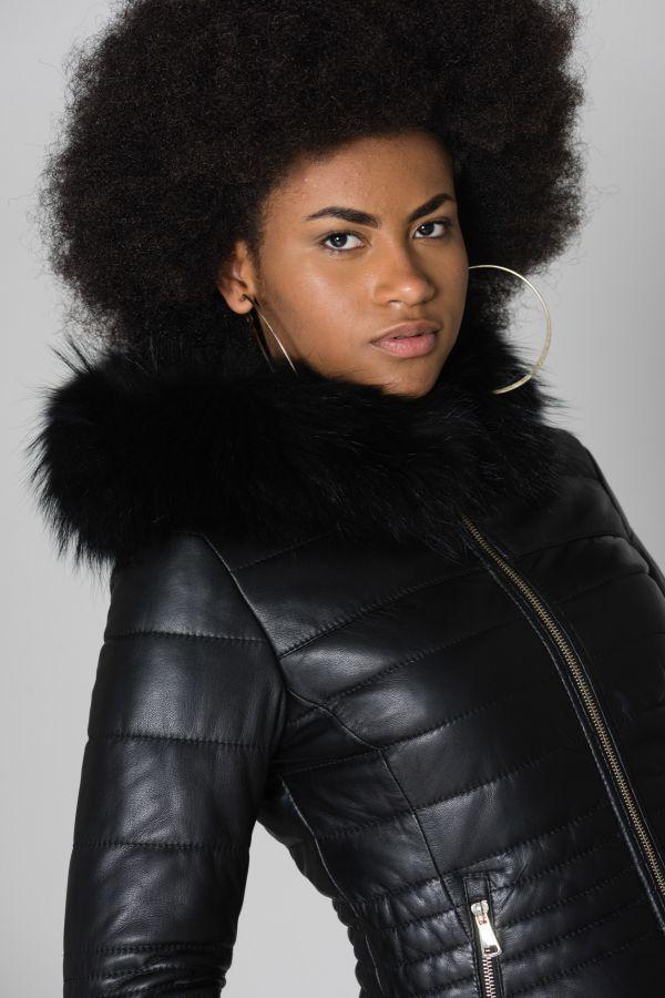 Blouson Femme Oakwood JELLY NOIR 501
