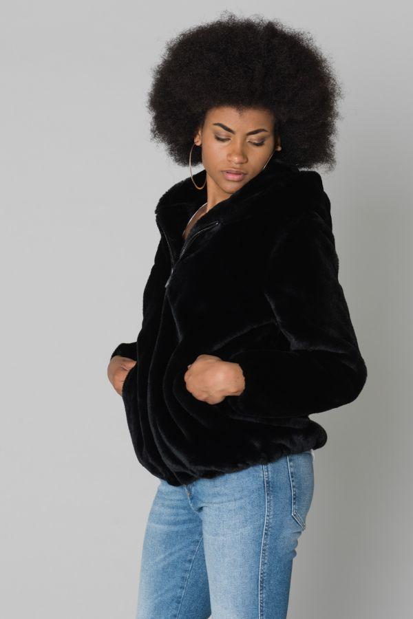 Blouson Femme Oakwood CONNECT NOIR