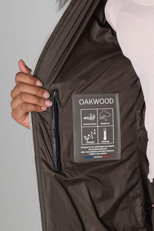 Damen Mantel Oakwood POPPY 1 NOIR 501