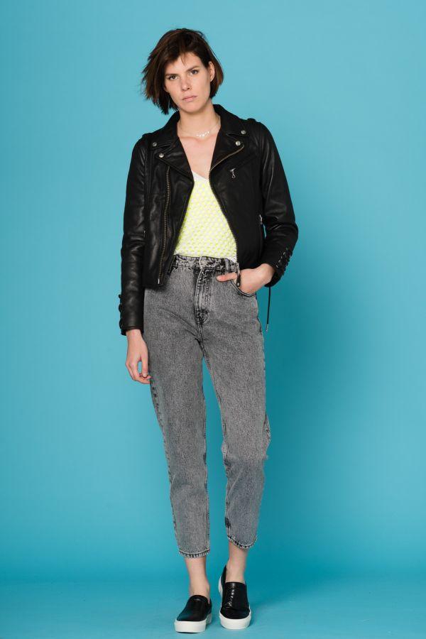 Blouson Femme Schott LCW8617 BLACK