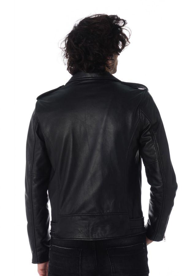 Blouson Homme Schott LC1150 BLACK