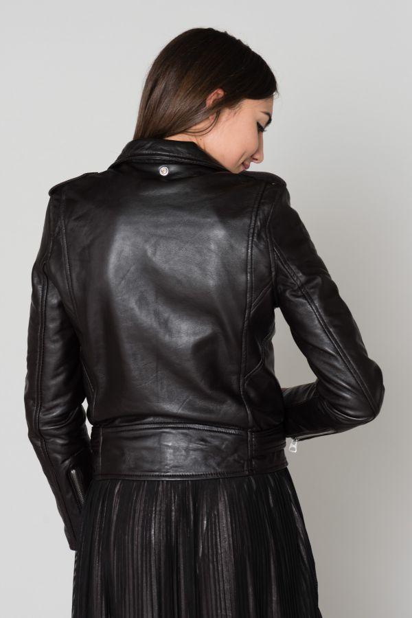 Blouson Femme Schott LCW8600 BLACK