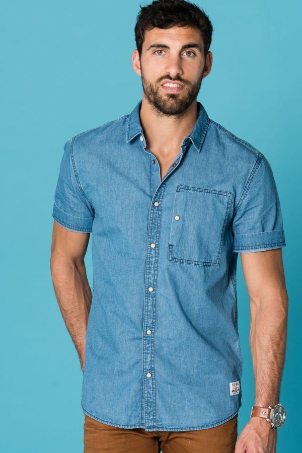 vente officielle plus récent haute couture Chemise Homme Kaporal PADOX BLUDEN