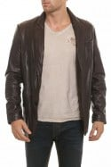 Veste Homme Daytona PARIS SHEEP AOSTA REDDISH BROWN
