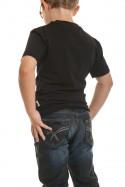 Tee Shirt Enfant Redskins Junior BOOST NOIR/ROUGE