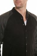 Blouson Homme Napp Jeans COLLEGE JACKET BLACK