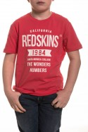 Tee Shirt Enfant Redskins Junior AURAC TROPICAL PINK