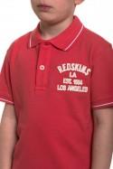 Polo Enfant Redskins Junior ESTEBAN TROPICAL PINK