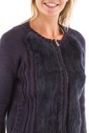 Fourrure Femme Oakwood COCOONING BLEU FONCE 533