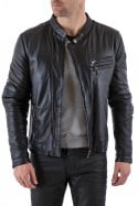 Blouson Homme Arma GUY SHEEP ENZYME WASHED BLACK ZZ