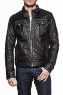 Blouson Homme Korintage LEANDRO SHEEP BLACK GREY