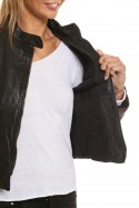 Blouson Femme Segura BARDOT WINE/BLACK