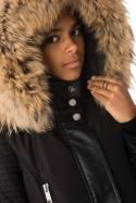 Veste Femme horspist NEW MANDALA NOIR COL NATUREL 2018