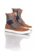 Boots / bottes Homme GStar Footwear HIGHLAND DK BROWN LTHR & TEXT W/COMBAT