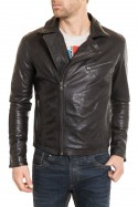 Blouson Homme Daytona CASH SHEEP PUNTO BLACK