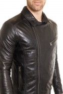 Blouson Homme Daytona CASH SHEEP PUNTO BLACK
