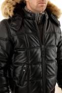Blouson Homme Schott LC9515H BLACK/BLACK