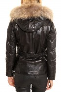 Veste Femme rose garden THALIA SHEEP AOSTA BLACK
