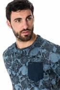 Tee Shirt Homme Kaporal LYLE BLUE US