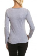 Tee Shirt Femme Redskins TOUCH SPRING GREY CHINE