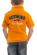 Tee Shirt Enfant Redskins Junior ESTEBAN BRIDGE CO CORAIL