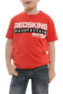 Tee Shirt Enfant Redskins Junior LAMBERT CALDER CORAIL