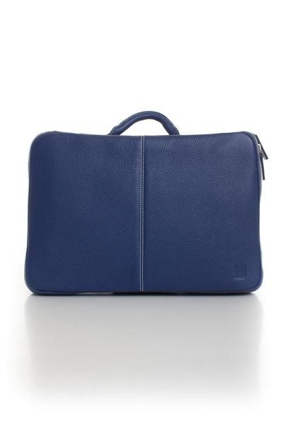 blaue Herrenlaptoptasche AIGLON aus Leder              title=