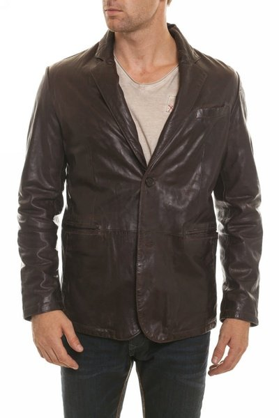 Veste Homme Daytona PARIS SHEEP AOSTA REDDISH BROWN ZZ