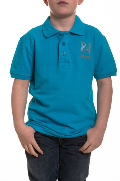Polo Enfant Redskins Junior LOFT TURQUOISE
