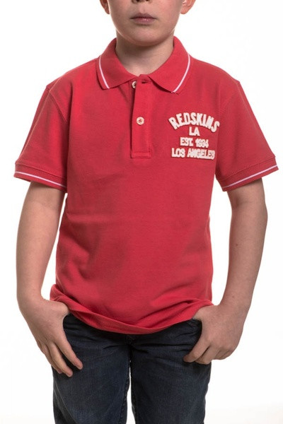 Polo Enfant Redskins Junior ESTEBAN TROPICAL PINK