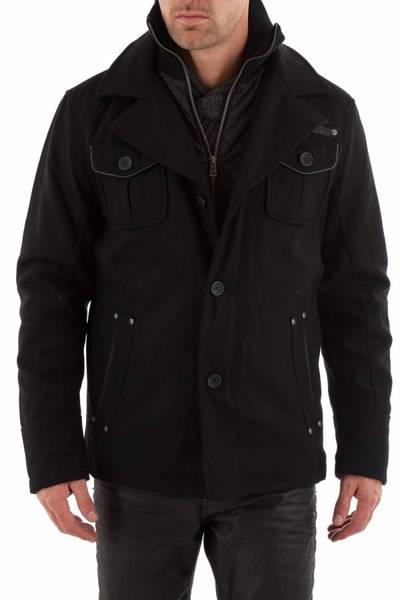 Veste Homme textile Gipsy Noir pour Homme