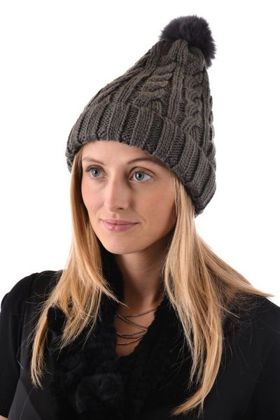 Bonnet Femme Oakwood PULPY GRIS FONCE 529