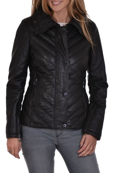 Blouson Femme rose garden NEW ROZENN SHEEP VENNE BLACK