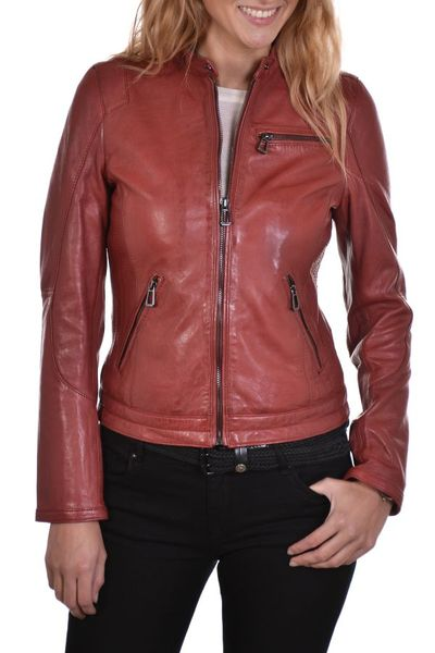 damen Jacke rose garden KELLY LAMB RUBY DARK RED              title=