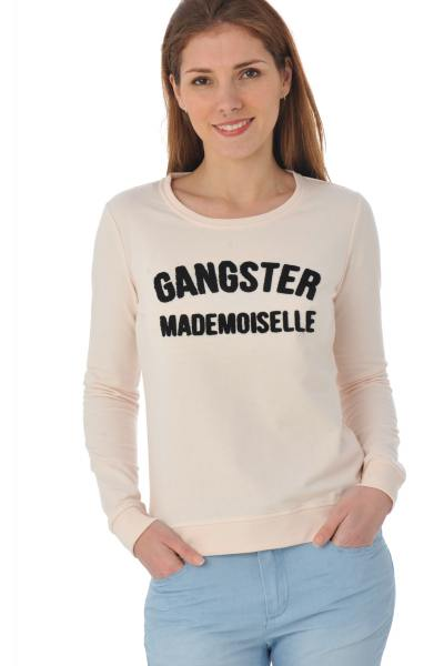 dünnes, hellrosanes Kaporal-Sweatshirt Gangster mademoiselle              title=