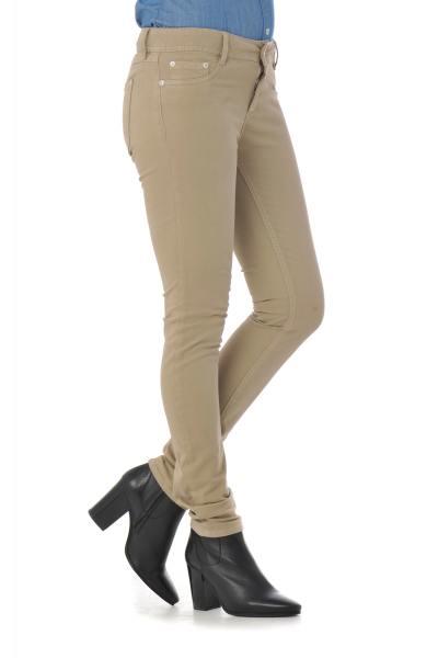 sandfarbene Kaporal-Jeans