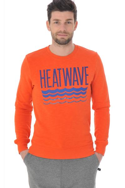 orangenes Sweatshirt Scotch and Soda              title=