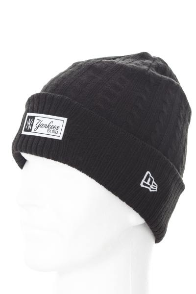 Bonnet Homme New Era MLB CABLE WOVEN BOB NEYYAN BLK 7294