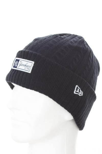 Bonnet Homme New Era MLB CABLE WOVEN BOB NEYYAN NVY 7270