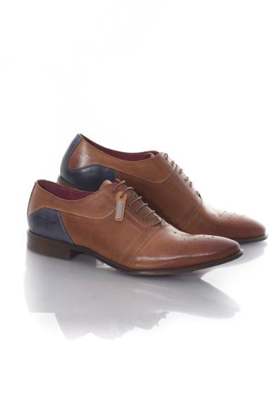 Chaussures à lacets Homme Chaussures Redskins PILONI MARRON MARINE