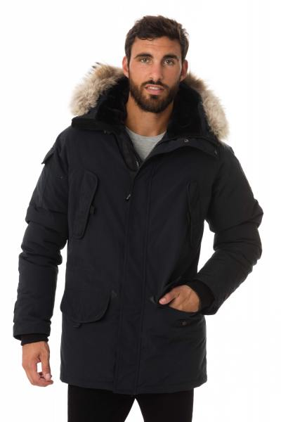 Veste Homme Helvetica EXPEDITION MEN PREMIUM EDITION MARINE