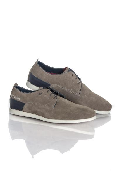 Chaussures à lacets Homme Chaussures Redskins MISTRAL GRIS MARINE