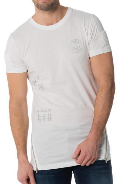 Tee-shirt blanc enfant PSG               title=
