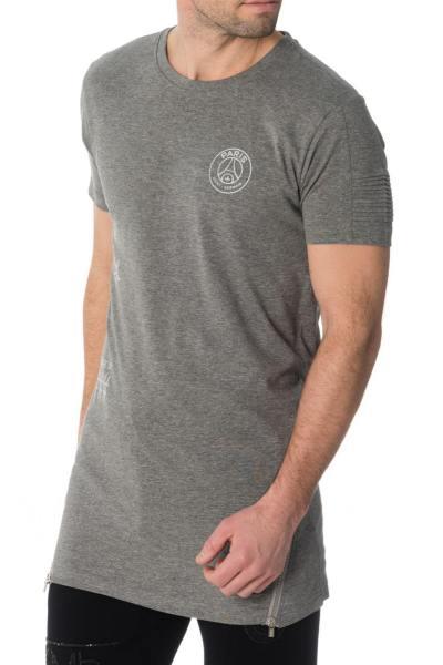 Tee-shirt enfant PSG gris              title=