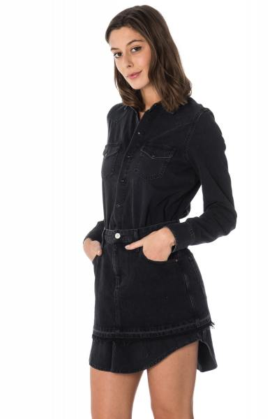 Robe en denim noir Diesel              title=