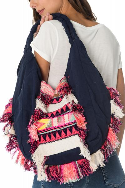 bunte Damentasche im ethno-Style Kaporal              title=